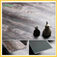 Unilin Click Grey Vinyl Plank Flooring Bathroom Flooring High Temperature Resistant Manufactures