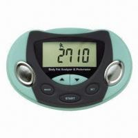 China Body Fat Analyzer and Pedometer, Monitors Calories Burnt in a Minute on sale