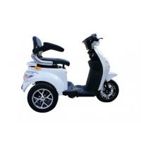 1000W Electric Tricycle For Handicapped , 3 Wheel Mobility Scooter Manufactures