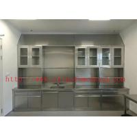 3000*750*900 MM Original Color Lab Tables Work Benches Stainless Steel Lab Furniture for Hospital and College Manufactures