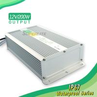 200W led waterproof power supply 12V for led strips Manufactures