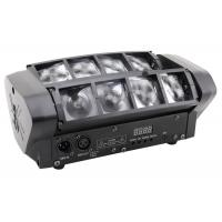 8 Eyes Rgbw 4 in 1 Led Beam Disco Stage Lights Moving Head Black Plastic Housing Manufactures