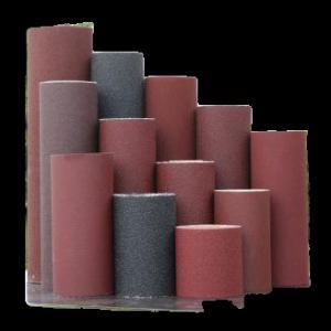 China Silicon Carbide Abrasive Cloth Sandpaper Rolls , 24 Grit To 120 Grit,abrasive sandpaper,Coated Abrasive Belts on sale