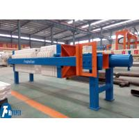 Quality Manual Cake Discharge Chamber Filter Press 10m2 For Mineral Processing Industry for sale