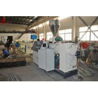 China Ø110mm - 800mm Pipe Extrusion Line for water supply , water drainage well casing pipe on sale