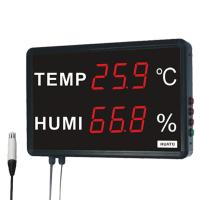 China HUATO Digital Thermometer Hygrometer Digital Temperature And Humidity Display on sale