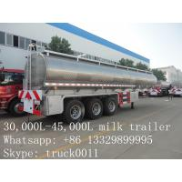 high quality and competitive price 45,000L stainless steel milk tank for sale Manufactures
