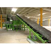 China Powerful Car Waste Tyre Recycling Machine SN - DS - 1500 With Double 55 Kw Motor Power on sale