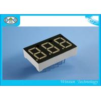 3 Digit LED Numeric Display / High Luminous LED Digital Clock Display With 8- 220 Mcd Brightness Manufactures