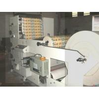 China 4 Colors Flexo Printing Machine Max Width 850mm White Speed 50m/Min Easy Operation on sale