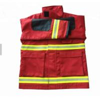 High Visibility Lightweight Flame Retardant Clothing 100% Cotton Anti Static Manufactures