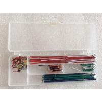 U Shaped Wire Cable Box Breadboard And Wire Kit 140 Pcs / Set Breadboard Jumper Kit Manufactures