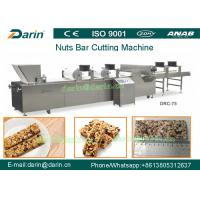 China Automatic  PLC Control Cereal Bar Making Machine / Peanut Bar Making Machine on sale