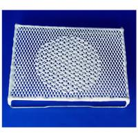 Portable Porcelain Enameled Finishing Ivory White Square Ceramic Barbecue Grills Manufactures