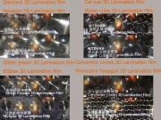 PVC self adhesive 3D cold lamination film Manufactures