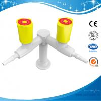 SHB5-1-gas fitting tap epoxide resin Double outlet gas fitting gas valve cock,Deck mounted,slow open powder lubricant Manufactures