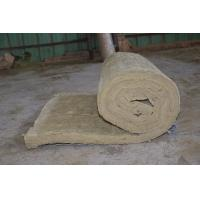 Residential Rockwool Insulation Blanket With Wire Mesh / Fiberglass Cloth Manufactures