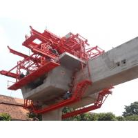 China Custom Bridge Beam Segment Lifter With Electric Winches Technical Data on sale