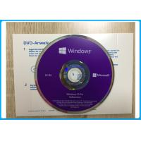 Windows 10 Pro Software OEM English / French / Italian /  Russian/Japanese online activation Manufactures