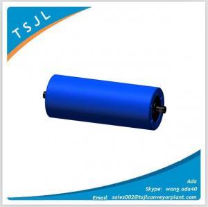 Steel and hdpe belt conveyor idler roller Manufactures