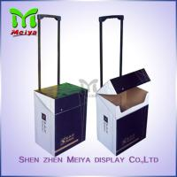 Exhibition Cardboard Trolley Box , Carton Trolley Paper Box For Fair Promotion Manufactures