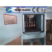 High Production Automatic Sandblasting Machine 380V 50Hz Electricity Source Manufactures