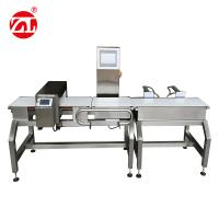 Automatic Alarm Light Combined Digital Food Metal Detector Checkweigher Manufactures