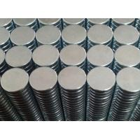 Small Disc Round Industrial Neodymium Magnets N35 Grade For Jewerly Box Manufactures