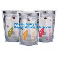 Jar Shaped Pouches, Round Bottom Plastic Bag/Stand Up Pouch Bag For Meat,Pork,Beef,Sea Food, Bagease, Bagplastics