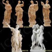 China Marble Statue, Garden Marble Carving, Stone Sculpture, Garden Stone Statue on sale