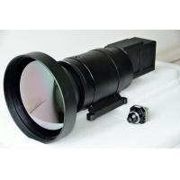 China High Resolution  Infrared Optical Lens 400mm / 100mm Dual FOV Focus Length on sale