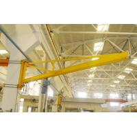 China 180 Degree Wall Mounted Workshop Jib Crane with Radio Controlled Pendent Control on sale
