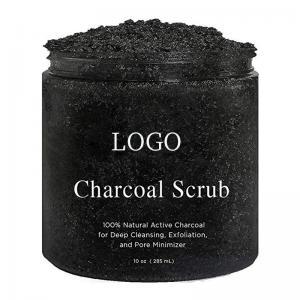 China Reduce Pores Bamboo Charcoal Body Scrub , Dead Sea Salt Body Scrub Detoxification on sale