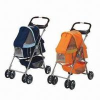Foldable Pet Strollers, Available in 20 Inches Size, OEM/ODM Orders are Welcome Manufactures
