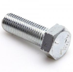 Heavy Fully Threaded Hex Head Tap Bolt , Hexagon Head Cap Screw Carbon Steel Manufactures