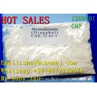 CAS 72-63-9 Dianabol Boldenone Steroids Hormones Power Methandienone For Fat Burning Manufactures