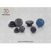 Pharmaceutical Customized Butyl Rubber Stoppers 13mm / 20mm / 28mm / 32mm Manufactures