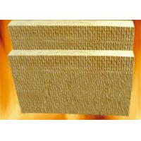 100mm sound proof Insulation Rock Wool board chemical stability For high temperature pipe Manufactures
