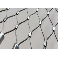Balcony Balustrade Flexible Stainless Steel Cable Mesh X Tend High Open Area Manufactures