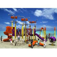 Fun Park Equipment Kids Outdoor Playground, Theme Park Equipment Plastic Slide Manufactures