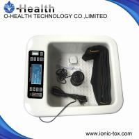 Foot Tub Heating Massage Therapy Detox Foot Spa Machine For External Detoxification Manufactures