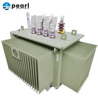 China Industrial Three Phase Oil Immersed Transformer With ONAN Cooling Type on sale