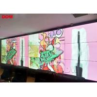 Horizontal Seamless Video Wall Displays / Multi LCD Wall Display Screen Manufactures