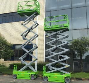 China SS0607EM Elevated Lift Platform , Mobile Scissor Lift Platform on sale