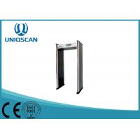 China Security Door Frame Metal Detector Gate 6 Zones For Government Office on sale