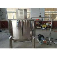 China Electric Heating Agitator Mixing Tank , Liquid Pharmaceutical Mixing Tank on sale