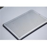 Bakeware Aluminium Baking Tray Flat Bread Al Alloy Corrugated Sheet Pan For Oven Manufactures
