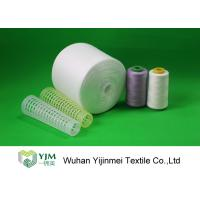 Household Garment Polyester Sewing Thread 3000M With Dyed / Raw White Color Manufactures