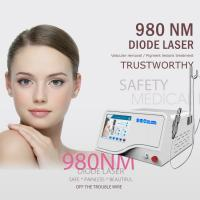China Multifunctional 3 In 1 980 nm Diode Laser Nail Fungus Removal / Spider Vein Removal Machine on sale