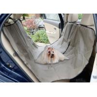 Adjustable Pet Car Seat Covers Waterproof Simple Install OEM / ODM Acceptable Manufactures